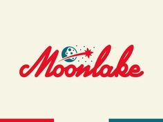 Moonlake script by ryan weaver Logo Inspiration Gallery | More logos http://blog.logoswish.com/category/logo-inspiration-gallery/ #logo #design #inspiration