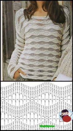 Crochet Vest Pattern, Crochet Jacket, Crochet Stitches Patterns, Crochet Diagram, Crochet Clutch, Crochet Cardigan, Crochet Scarves, Crochet Skirts, Crochet Clothes