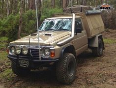 Discover recipes, home ideas, style inspiration and other ideas to try. Nissan 4x4, Nissan Trucks, Toyota Trucks, Best 4x4 Cars, Nissan Patrol Y61, Ute Trays, Nissan Hardbody, Patrol Gr, 4x4 Accessories