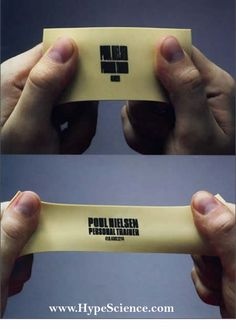 Personal Trainer card.  So smart. I need to get these.