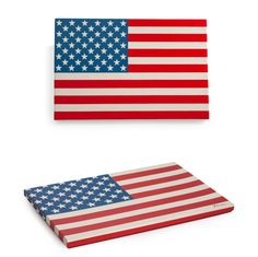 USA American Flag Tray