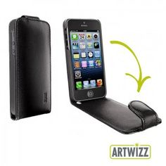 Artwizz SeeJacket Leather Flip für #iPhone 5 bei www.StyleMyPhone.de