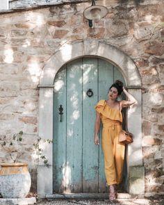 Look Provence combi jaune Mango L'atelier d'al blog mode lifestyle