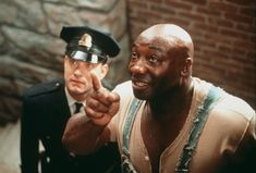 "1999.........FILM "" THE GREEN MILE ""....."" LA LIGNE VERTE "".....WITH THE ACTOR MICHAEL CLARKE DUNCAN ( JOHN CAFFEY).........SOURCE BING IMAGES......"