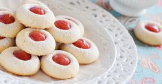 Traditional jam droplets are like the perfect, golden biscuit, filled with the perfect sweet treat.