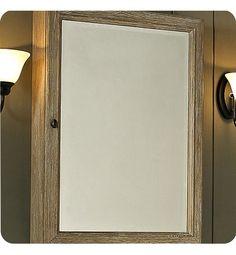 "142-mc22 | Fairmont Designs Rustic Chic 22"" Medicine Cabinet in Weathered Oak"