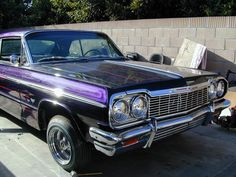 64 Impala SS  It's the Mexican inside me :)