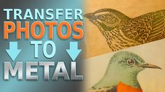 This video will show you how to transfer laserjet photos onto a metal surface. This works for both B&W and COLOR laser-printed images. For printing/transfer ...