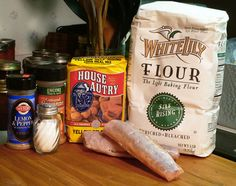 Brook Trout, ingredients