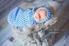 Ravelry: Karma Baby Cocoon or Swaddle Sack by Crochet by Jennifer