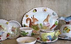 Etsy - About JulieWhitmorePottery