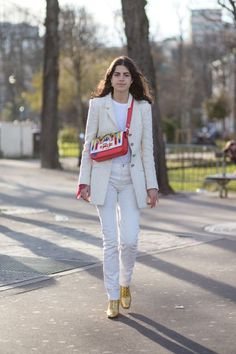 The trend we're noticing lots of fashion girls sporting lately