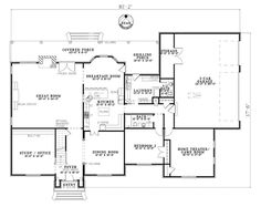 First Floor Plan of Colonial Southern House Plan 62153 add a master suite downstairs and gameroom larger Healthy Filling Snacks, Healthy Dog Treats, Healthy Snacks For Kids, Yummy Snacks, Senior Home Care, Gambling Quotes, Dinners For Kids, Great Rooms, Las Vegas