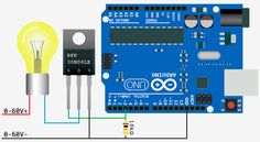 High-Power Control: Arduino + N-Channel MOSFET http://www.pinterest.com/evinguler/arduino/?utm_campaign=recs_141103&utm_term=1&utm_content=126523139470520647&e_t=156f276d068f4e10870d27a01c2fd289&utm_source=31&e_t_s=boards&utm_medium=2011