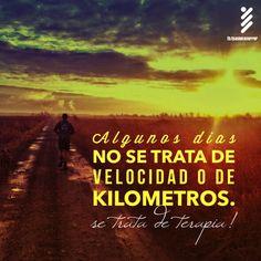 Algunos dias no se trata de velocidad ode kilometros. Se trata de Terapia #Running #Inspiracion #Correr