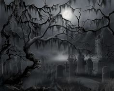 Image from http://images.fineartamerica.com/images-medium-large-5/midnight-in-the-graveyard-james-christopher-hill.jpg.