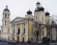 The Vladimir Mother of God Church in St. Petersburg was opened in 1783.  It is a beautiful blending of baroque and classical elements.  After the Russian Revolution, the church was closed and became a library of anti-religious literature.  Interesting enough, from 1930 to 1940, it was one of the few places in Soviet Russia where one could read the Bible.  Since 1991, the church has been returned to the Russian Orthodox Church.  It has a magnificent baroque iconostasis that has survived.