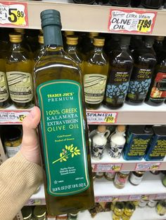 Trader Joe's bargains: TJ's is a great source for olive oil, as long as you know which kind to buy.