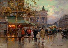 Place de l'Opera - Edouard Cortes