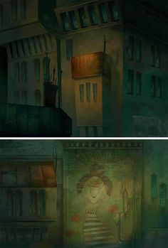 Headless Productions backgrounds Nocturna