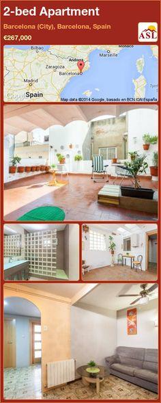 2-bed Apartment in Barcelona (City), Barcelona, Spain ►€267,000 #PropertyForSaleInSpain