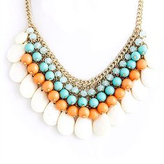 Cluster Bib Necklace - Buy From ShopDesignSpark.com