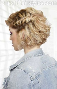 Twisted Braid for Short Bob