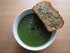 Odżywiaj się zdrowo: Zupa krem brokułowo- szpinakowa