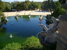 Parque de Ciudadela. Barcelona