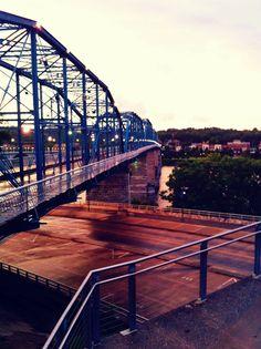 walnut street #walking bridge in #chattanooga!