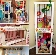 Stuffed Animal Zoo Storage Tutorial