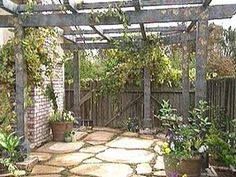 Building A Grape Arbor : Archive : Home & Garden Television