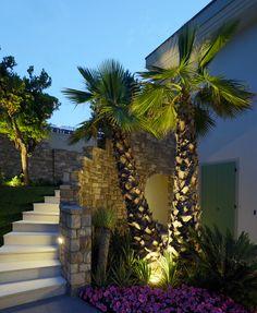 Villa Privata - Padenghe sul Garda - Italy #platek #outdoorlighting