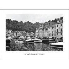 "Juliste ""Portofino - Italy"" Portofino Italy, Boat, Dinghy, Boats, Ship"