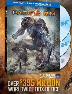 Pacific Rim Motion Blu-ray/DVD Cover Art