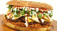 8 Oz. Burger's Nacho Burger