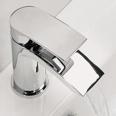 Flow Basin Mixer Tap With Flip Top Waste | bathstore