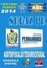 Apostila Concurso Publico Sefaz PE Auditor Fiscal do Tesouro Estadual 2014