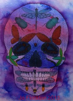 """""""In Your Style"""" - Sugar Skull Challenge ~ 10/14/2013 - The Art Colony"""