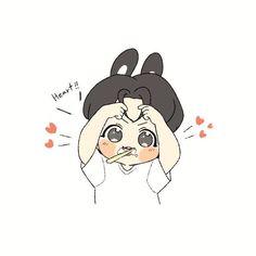 Bts Chibi, Naruto Chibi, Chibi Manga, Jungkook Fanart, Jungkook Cute, Kpop Fanart, Cartoon Wallpaper, Bts Wallpaper, Chibi Tutorial