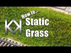 How to make Static Grass look Amazing - Kathy Millatt Train Info, Hobby World, Hobby Shops Near Me, Model Training, N Scale Trains, Popular Hobbies, Hobby Trains, Modeling Techniques, Model Train Layouts