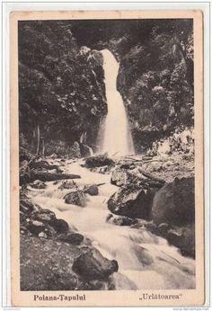 Poiana Tapului - Cascada Urlatoarea - interbelica