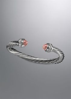 The day I receive my first david yurman piece, will be one day I'll never forget.