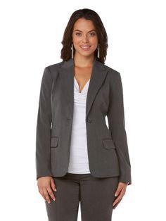 Gabardine Classic 1 Button Jacket #holidaycontest rafaellasportswear.com