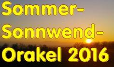 Sommer-Sonnwend-Orakel 2016 zum Mitlernen und Üben