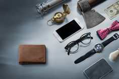 Handmade leather with built in electronics for Bluetooth connectivity with a…