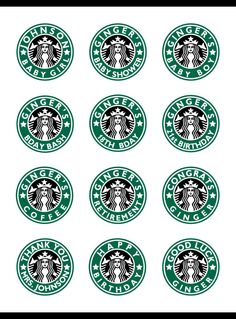 Personalized Starbucks Coffee round stickers party favors * Birthday * Baby Shower * Retirement * Thank you * DIY PRINTABLE 13th Birthday Parties, Birthday Party Favors, Happy Birthday, 12th Birthday, Diy Birthday, Birthday Ideas, Starbucks Birthday Party, Birthday Coffee, Birthday Breakfast
