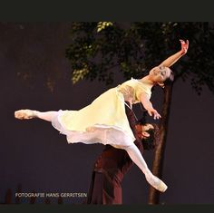 """Aki Saito and Wim Vanlessen, """"Onegin"""" choreography by John Cranko, The Royal Ballet of Flanders Koninklijk Ballet Vlaanderen  © Hans Gerritsen"""