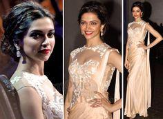 Beautiful Saree and Hairstyle