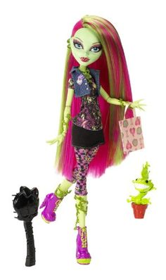 i love venice i have her in real life and frankie stine and laguna and clawdeen i really want this monster high cit where you can make your oun monster high doll and name it what you want to its so cool im doing jobs for my aunt and so i can earn the money